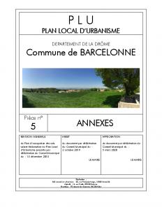 PLU Barcelonne_05 Annexes_PdG
