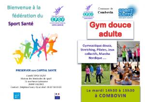 Gym Douce Adulte Inscirption Combovin 21-22